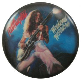 Ted Nugent - 'Weekend Warriors' Button Badge